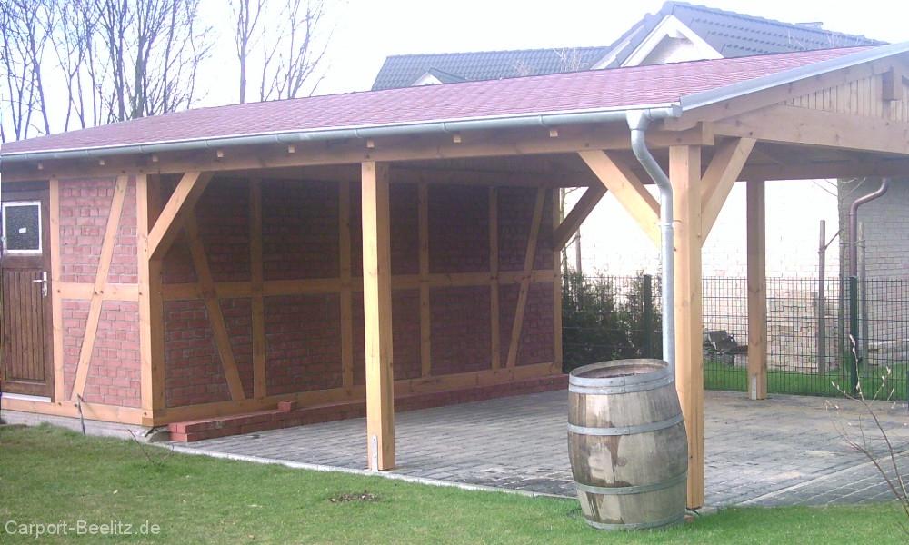 bausatz carport finest aluminium carport mit abstellraum. Black Bedroom Furniture Sets. Home Design Ideas