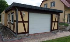 Fachwerk Garage - Leipzig