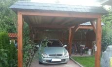 Flachdach Carport - 11