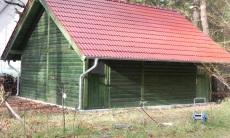 Holzgarage - Borkheide