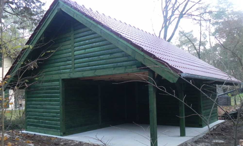 Holzgarage - Borkheide-1