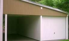 Pultdach Garage - 01