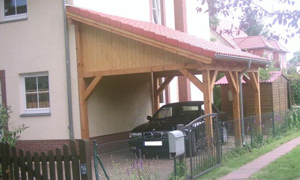 Pultdach Bilder Pultdach Referenzen Carport Beelitz