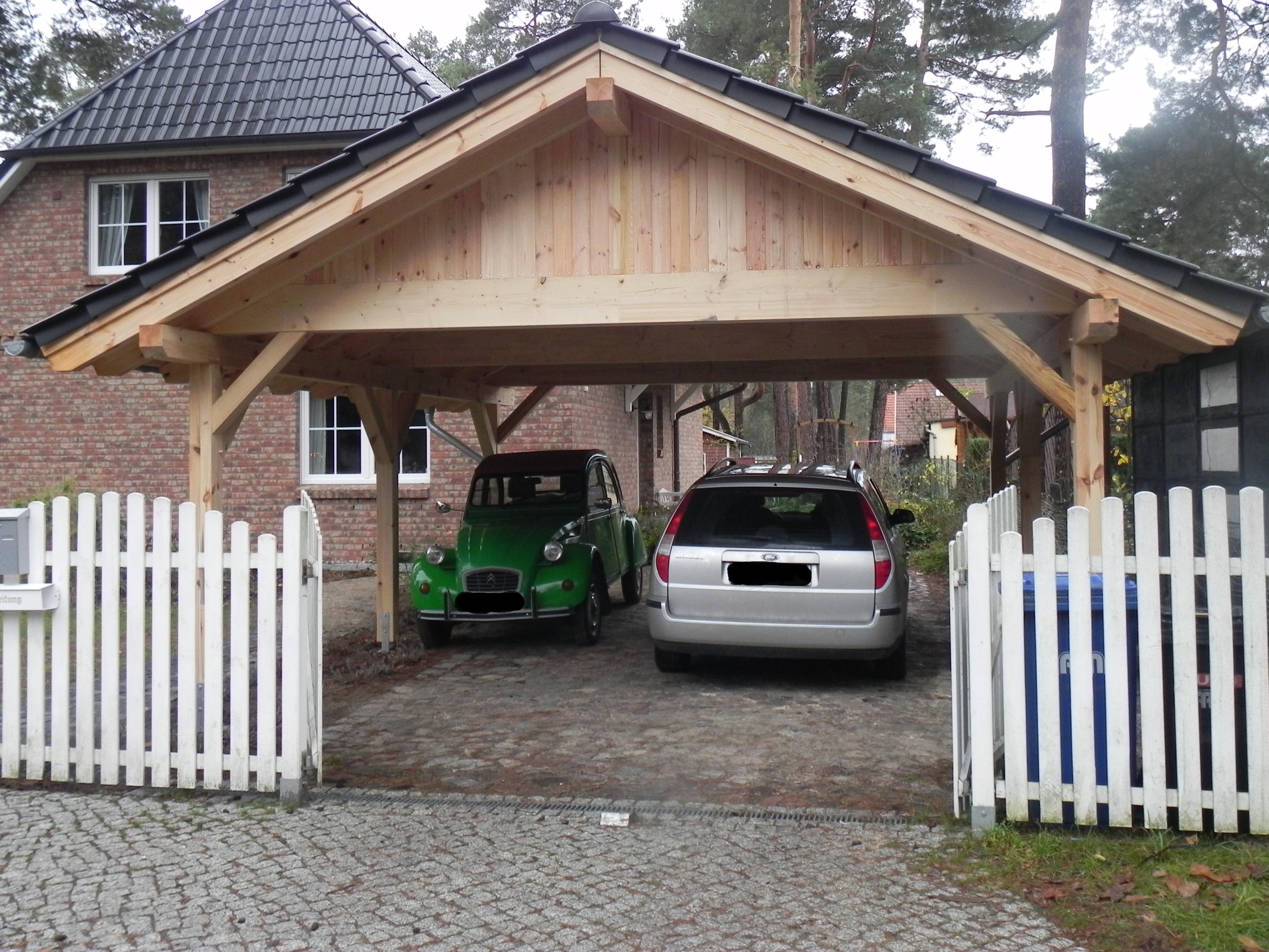 Satteldach Holzgarage - PM