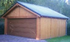 Satteldach Holzgarage - 11