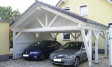 Satteldach Carport - 12
