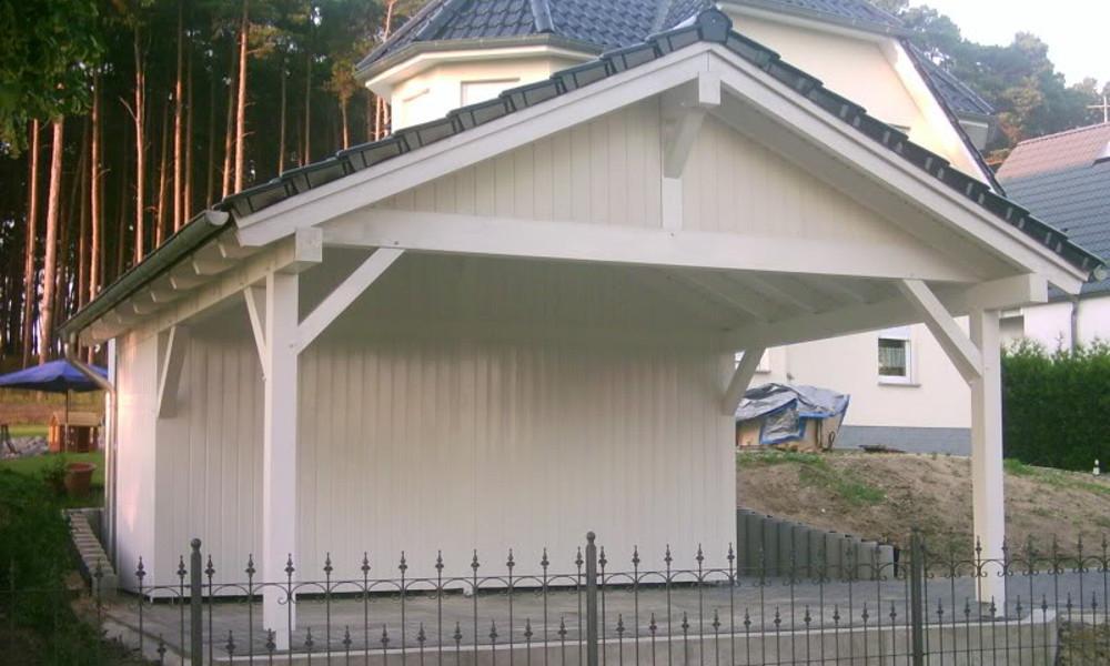 Satteldach Carport - 10