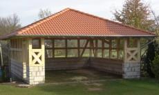 Walmdach Garage - Köln