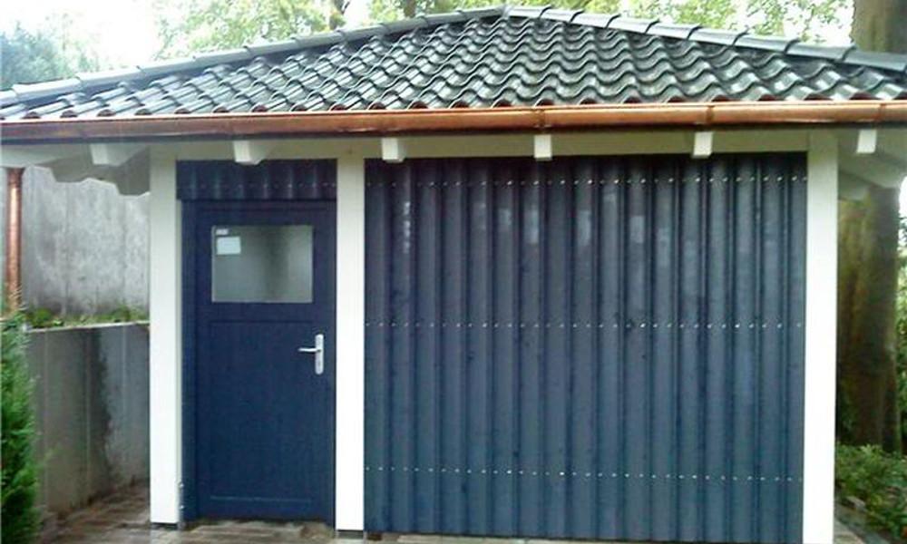 Walmdach Garage - Teltow