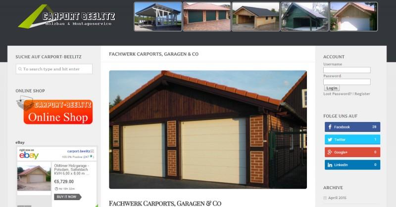 Carport-Beelitz Fachwerk Facebook