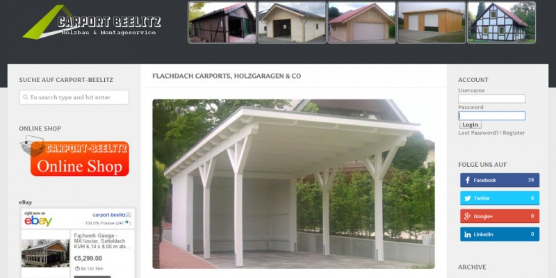 Carport-Beelitz Flachdach Twitter