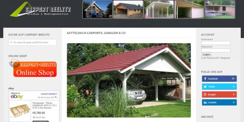 Carport-Beelitz Satteldach Twitter