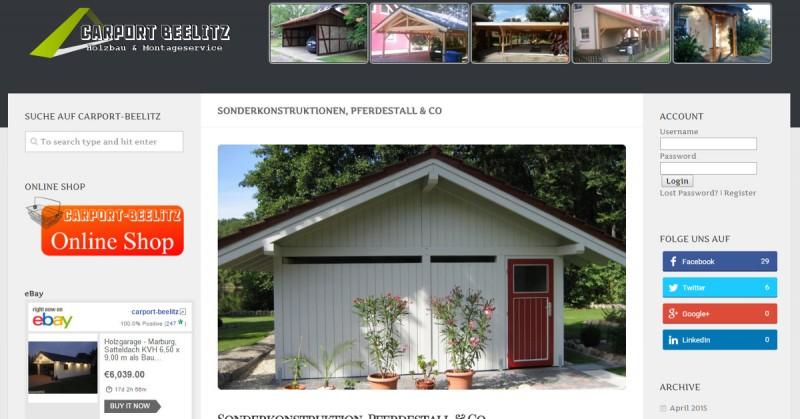 Carport-Beelitz Sonderkonstruktion Facebook