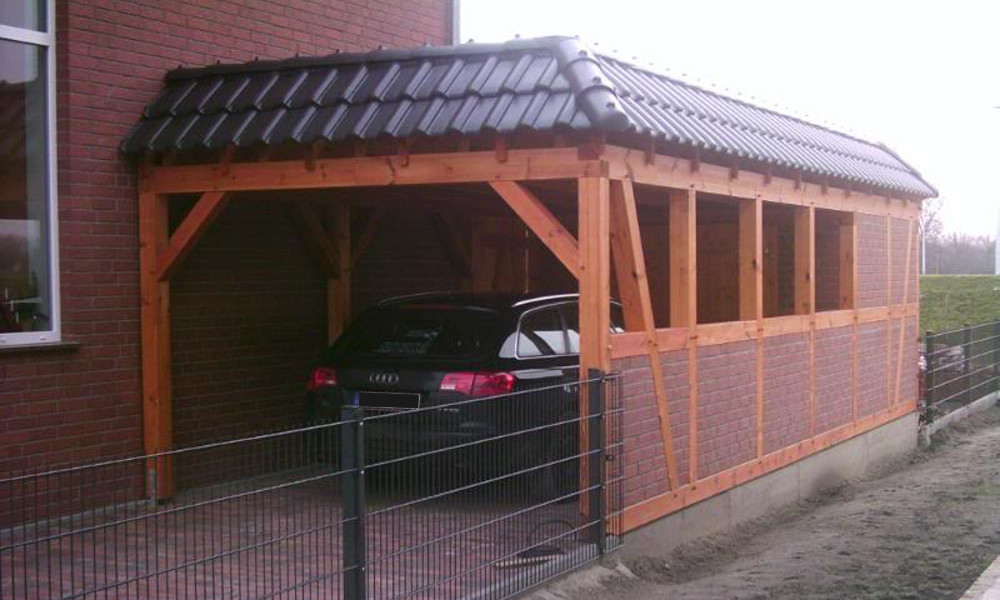 fertiggarage mit carport fertiggarage mit carport anbau garagen carport kombination als. Black Bedroom Furniture Sets. Home Design Ideas