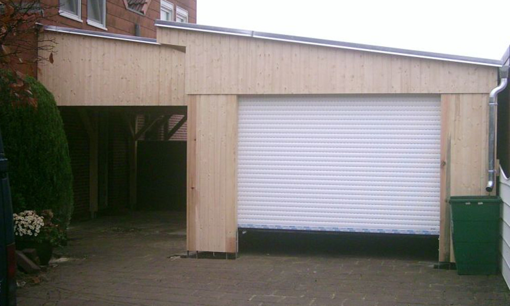 holzgarage mit carport die holzgarage mit carport holzgarage g kombi modell garage mit carport. Black Bedroom Furniture Sets. Home Design Ideas