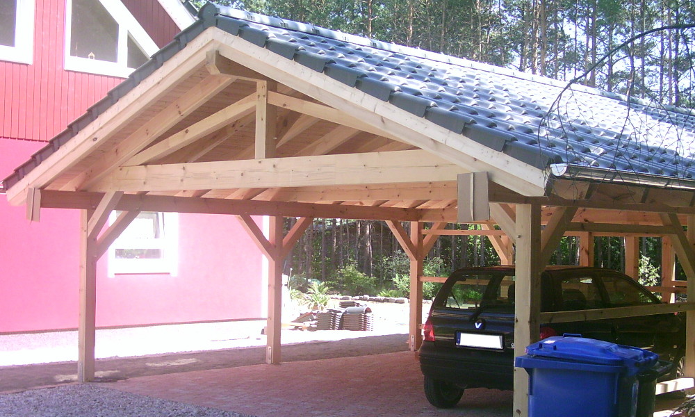 Satteldach Carport - Beelitz